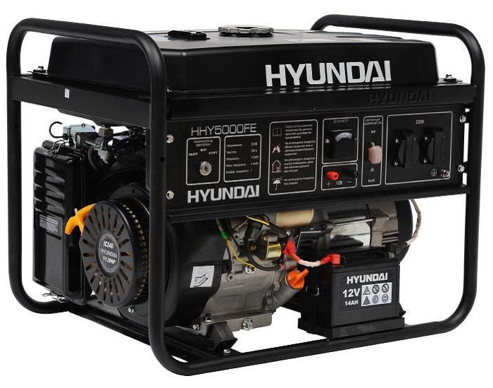 бензиновый генератор hyundai hy9000ser отзывы